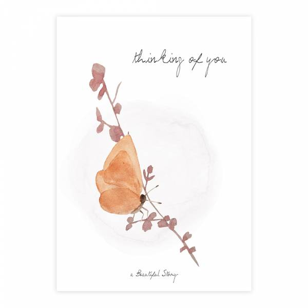 Greeting Card Butterfly