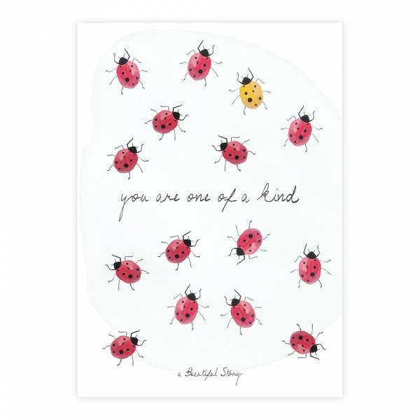 Greeting Card Ladybugs