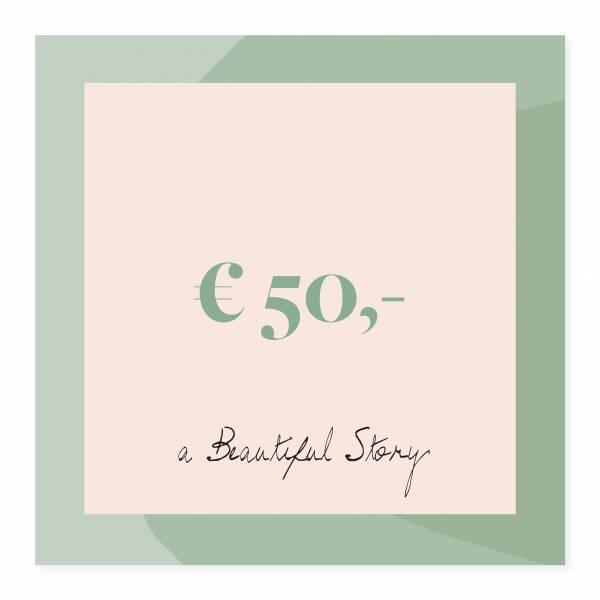 Gift voucher 50 euro