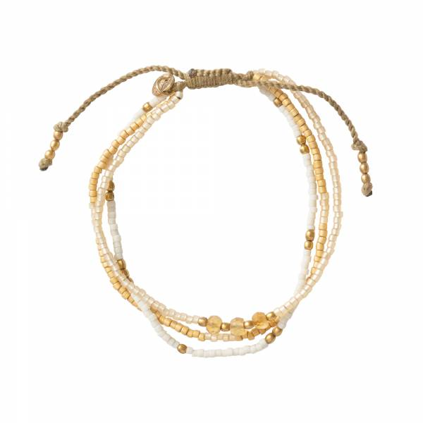 Gentle Citrin Gold Armband