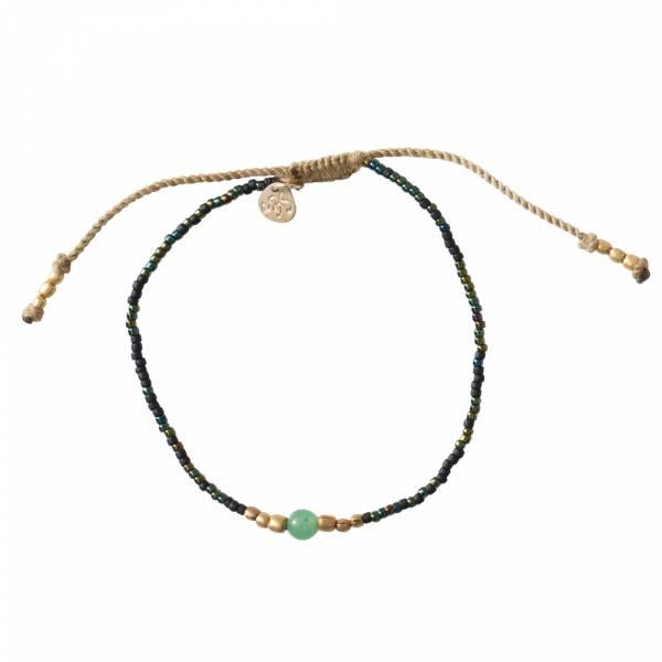 Iris Aventurine Gold bracelet