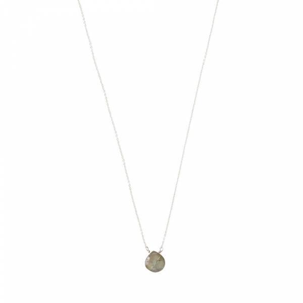Divine Labradorit Silber Halskette