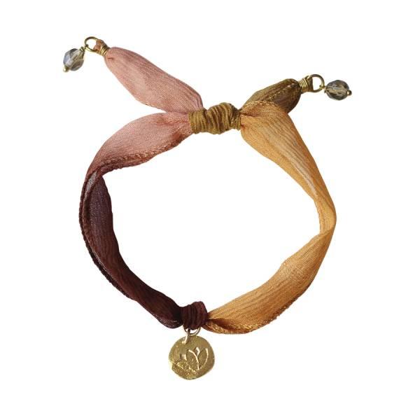 Sunny Lotus Münze Armband