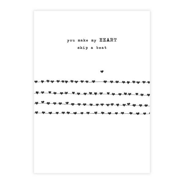 Greeting Card Heartbeats