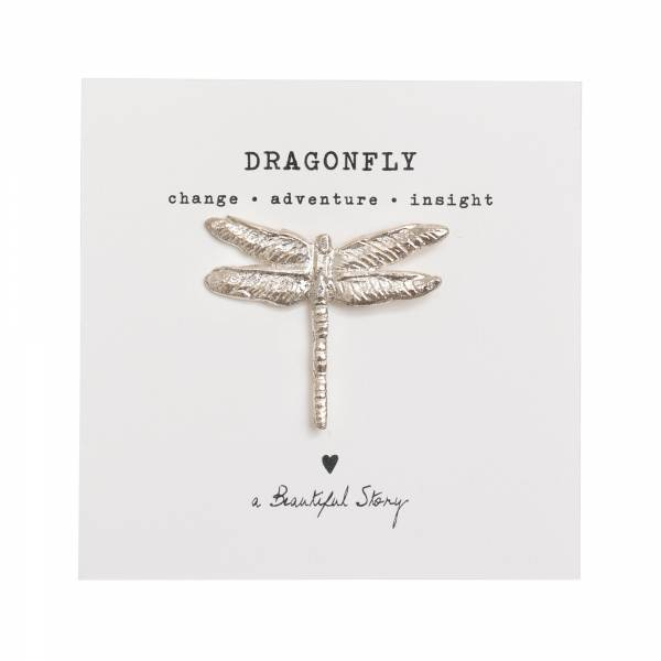 Brooch Dragonfly Silver